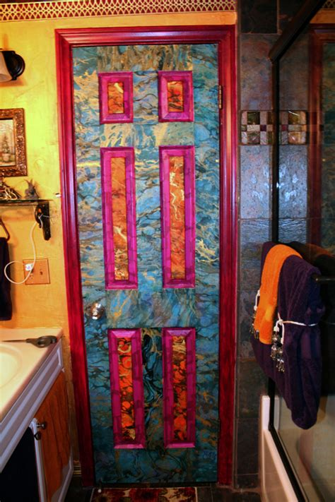 decoupage door wall decor art decorating