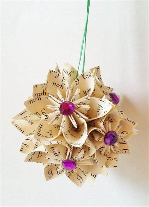 Handmade Decorations Ideas - handmade paper craft decorations family