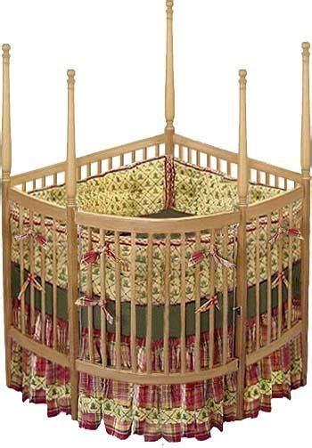 Nursery Baby Custom Corner Crib Woodworking Plans Design Corner Baby Crib