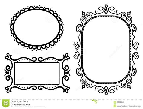 how to create doodle frames doodle frames stock photos image 11448063