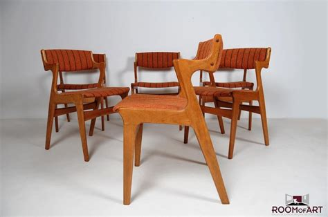 danish dining room furniture set of six danish dining chairs in teak room of art
