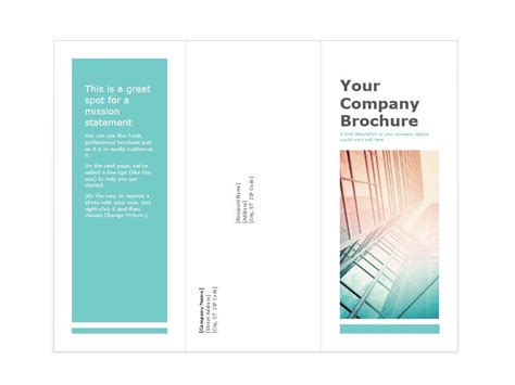 brochure templates for pages free 31 free brochure templates word pdf template lab