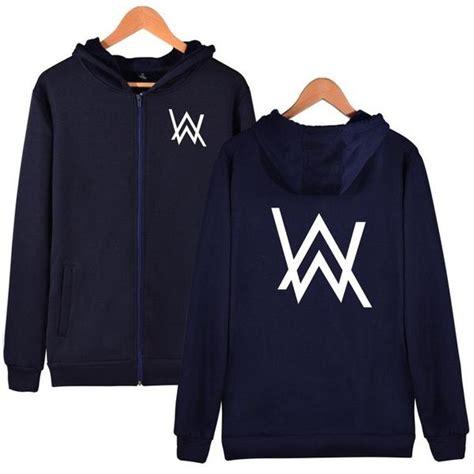 Zipper Hoodie Alan Walker 1 Fightmerch buy luckyfridayf alan walker zipper hoodies