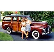 Woodie Gallery American Autos 1945 To 1949  Old Woodies