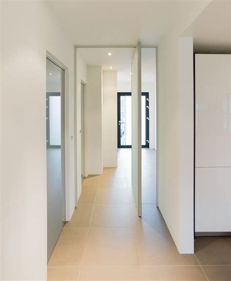 Pivot Interior by Modern Glass Pivoting Doors Made To Measure With