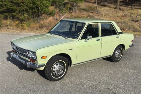 dark green station wagon museum quality original 1972 datsun 510