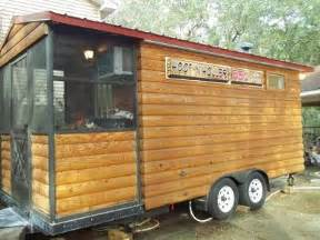 2009 custom log cabin concession trailer 8 x 20