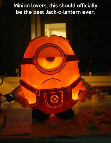 Pumpkin Meme - for minion lovers pumpkin carving art know your meme
