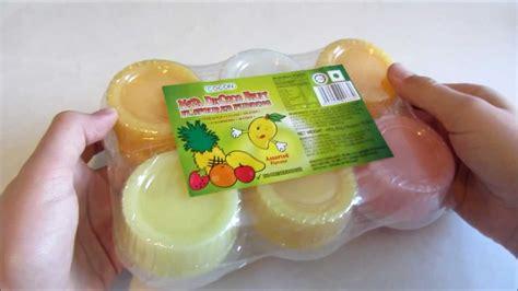 Cocon Mini Nata Konyaku Pudding snacks nata decoco s fruit pudding
