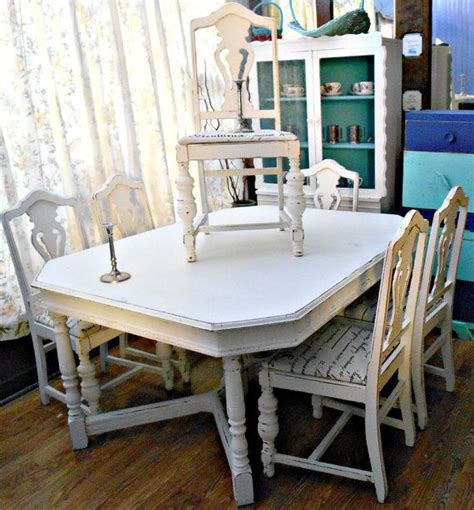 white dining tables shabby chic white deco shabby chic dining table 6 by