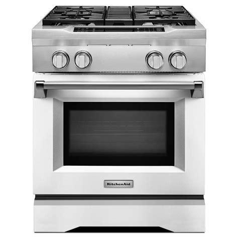 Kitchen Aid Convection Oven by Kitchenaid 30 In 4 1 Cu Ft Dual Fuel Range With