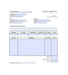 Retail Receipt Template by Retail Invoice Template 8 Free Sle Exle Format