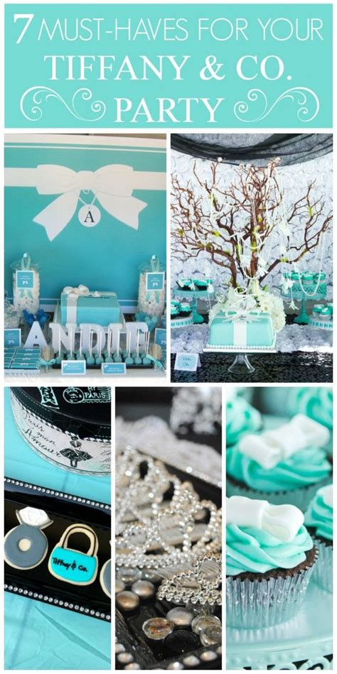 tiffany and co ls 514 best sweet 16 ideas images on pinterest chanel party