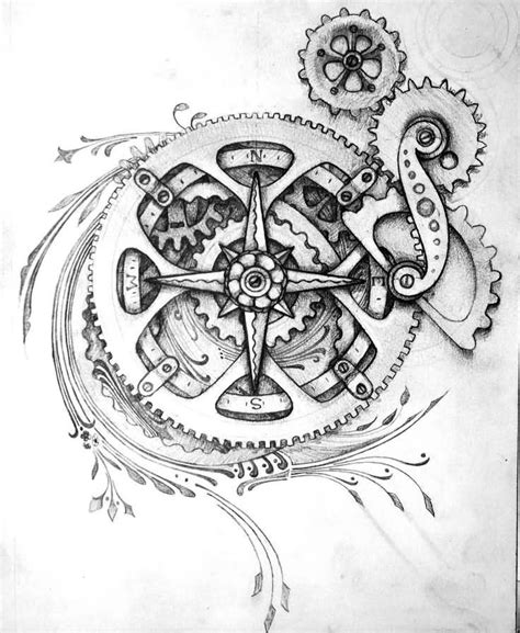 tattoo gears design best 25 gear ideas on