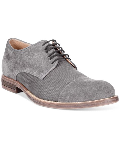 alfani shoes womens alfani s eric cap toe oxfords only at macy s in gray
