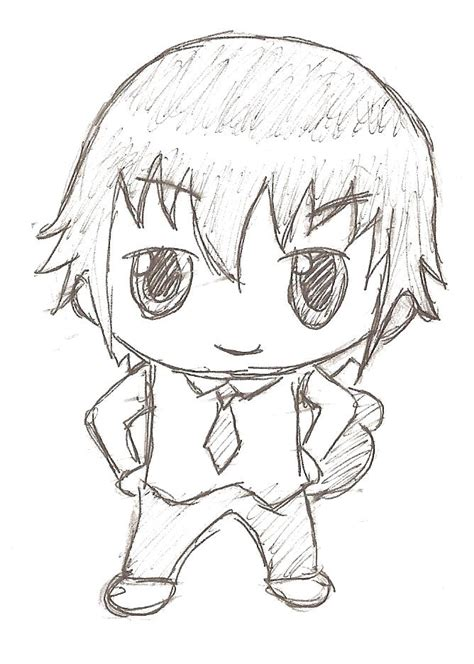 Chibi Boy By Iheartbathearts On Deviantart How To Draw Chibi Boy