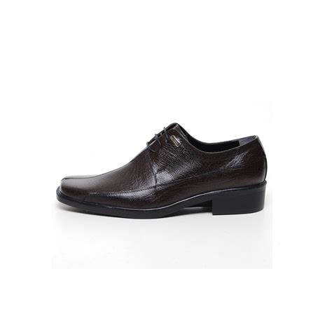mens flat square toe leather dress shoes