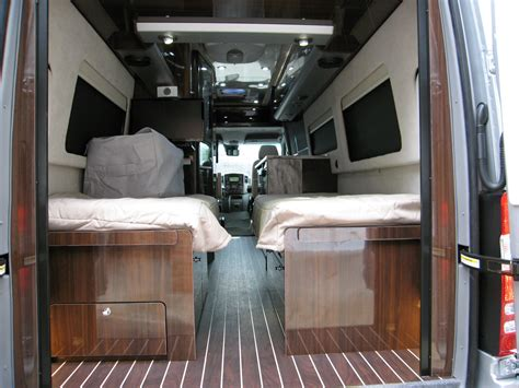 Murphy Beds by 2016 Airstream Interstate Grand Tour Twin Bed Mercedes