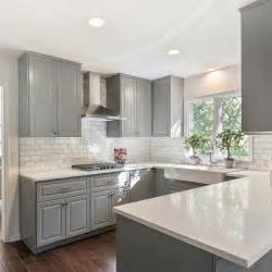 gray kitchen with white cabinets 25 best ideas about gray and white kitchen on