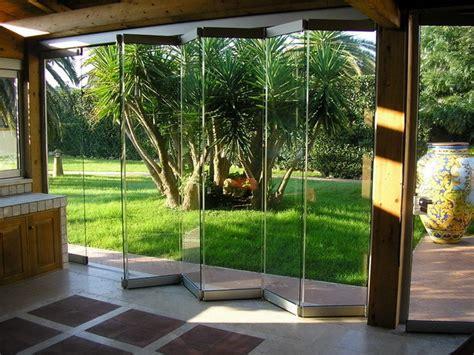 vetrate pieghevoli per verande vetrata pieghevole in alluminio senza telaio giemme system