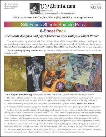 printable fabric sheets washable inkjet fabric sheets washable silk