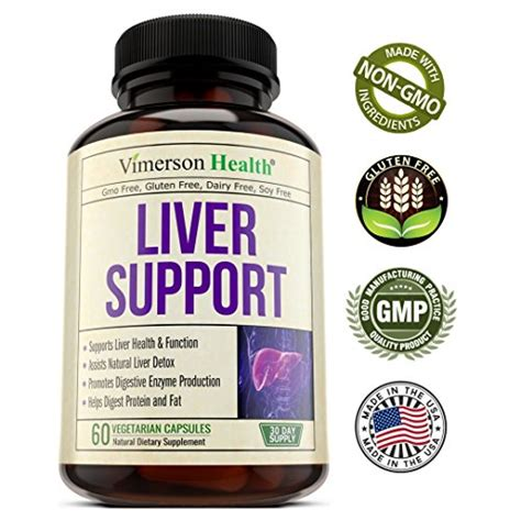 Artichoke Liver Detox by Liver Cleanse Detox Support Supplement Non Gmo