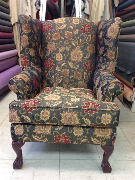 reupholstered wing chairs foamland  teds furniture