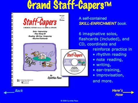 more makeshift workshop skills books grand staff capers tour pg1