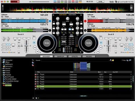 console dj virtuale dj software hercules dj console 4 mx topic