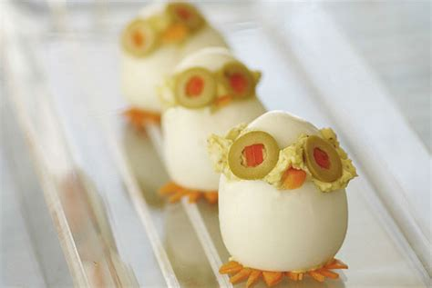 Decorated Deviled Eggs For Easter by Egg Cellent Recipes