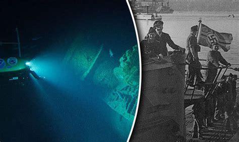 u boat off us coast nazi shipwreck explored off us coast in incredible