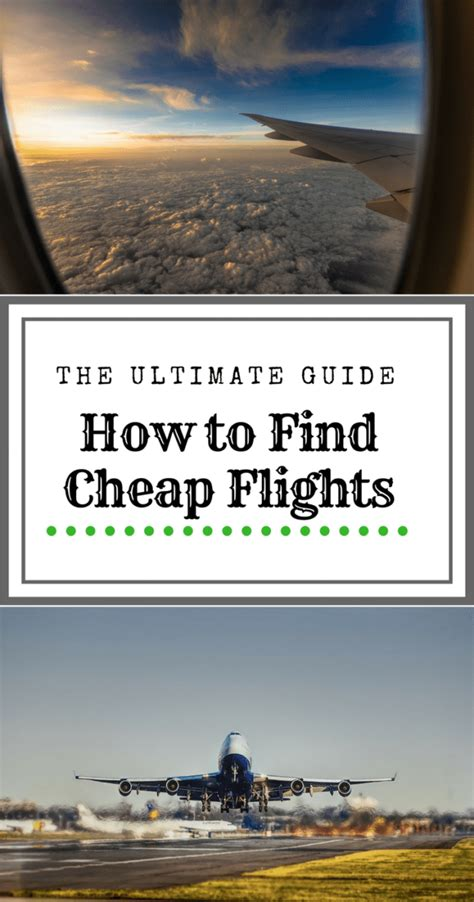 the ultimate guide on how to find cheap flights dang travelers