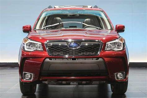 subaru forester 2017 exterior 2017 subaru forester powerful engine expected release