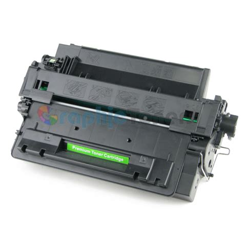 Toner Hp 55a Ce255a premium compatible hp ce255a 55a black laser toner cartridge