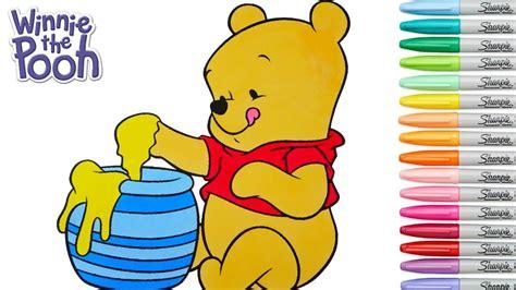 winnie the pooh coloring book disney coloring book winnie the pooh baby rainbow splash