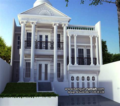 desain rumah bekasi desain rumah klasik  jati asih bekasi desain rumah