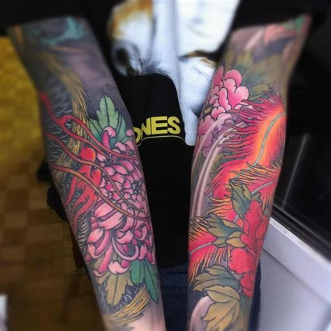 floral arm tattoos floral arm idea best ideas designs