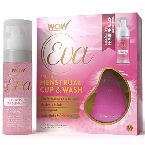 Medicals Grade Detox Shoo by Wow Reusable Menstrual Cup Cleansing Wash Size