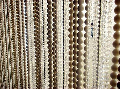 cortina abalorios cortinas de cuentas con piedras de cristal reformas