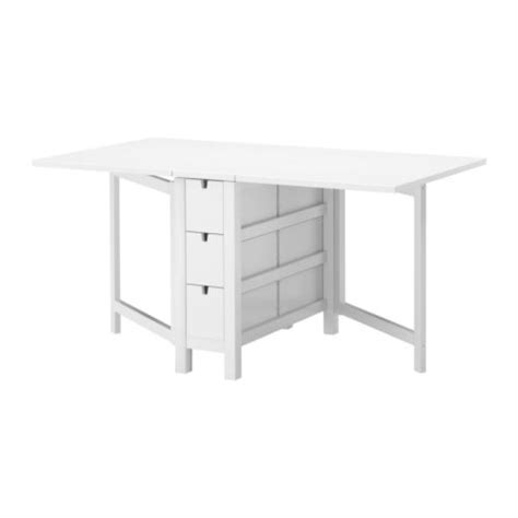 Ikea Norden Dining Table Norden Gateleg Table White 26 89 152x80 Cm Ikea