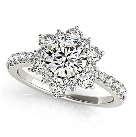 flower wedding band ring flower rings wedding promise engagement rings trendyrings
