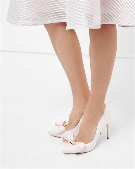 light pink heels size 5 light pink bow heels ha heel