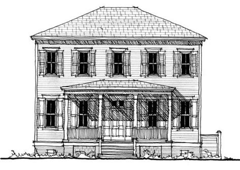 historic southern house plans historic southern house plan 73717