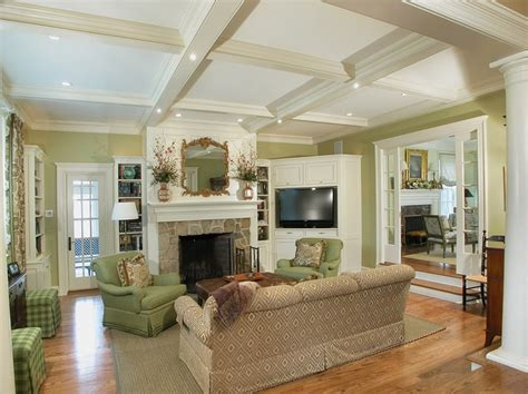 Built In Kitchen Banquette Corner Fireplace Mantels Beach Style Orange County With