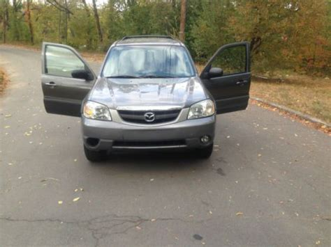2005 mazda tribute type purchase used 2005 mazda tribute 4 cylinder clean
