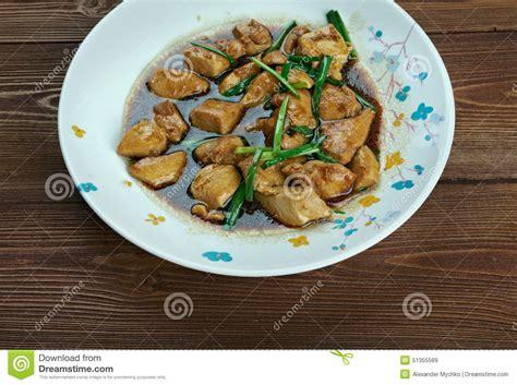 cuisine mongole poulet mongol photo stock image 51355589