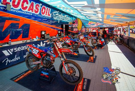 Ktm Tent Ama Mx 2015 Thunder Valley Gallery A Mcnews Au