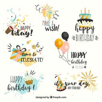 happy birthday design ai birthday vectors photos and psd files free download