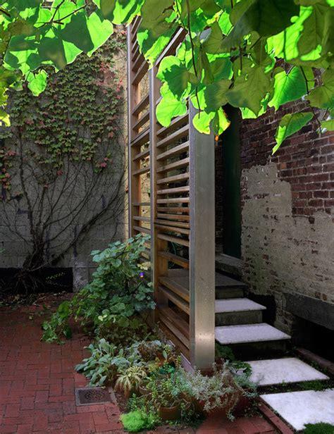 Modern Garden Trellis Trellis Roof Deck Modern Deck New York By