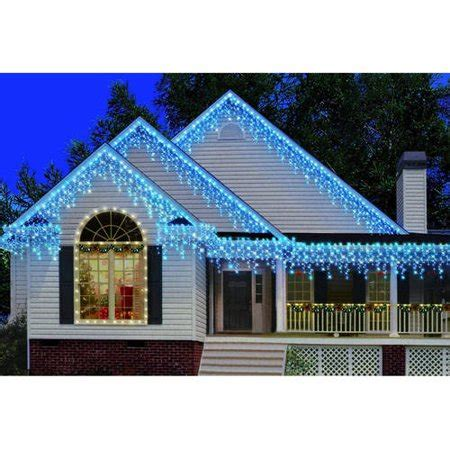 christmas lights at walmart time 300 count heavy duty icicle lights walmart